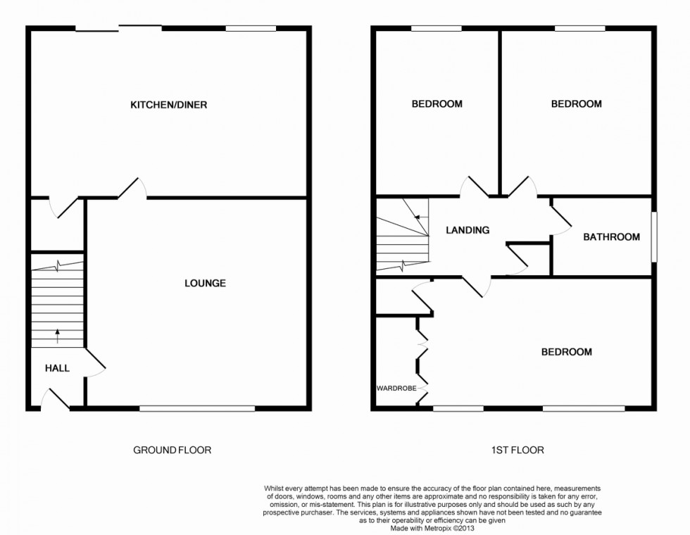 Floorplan for Colliers Break, Emersons Green, Bristol